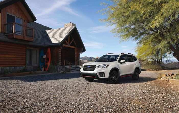 24 The Subaru Forester 2019 News Style