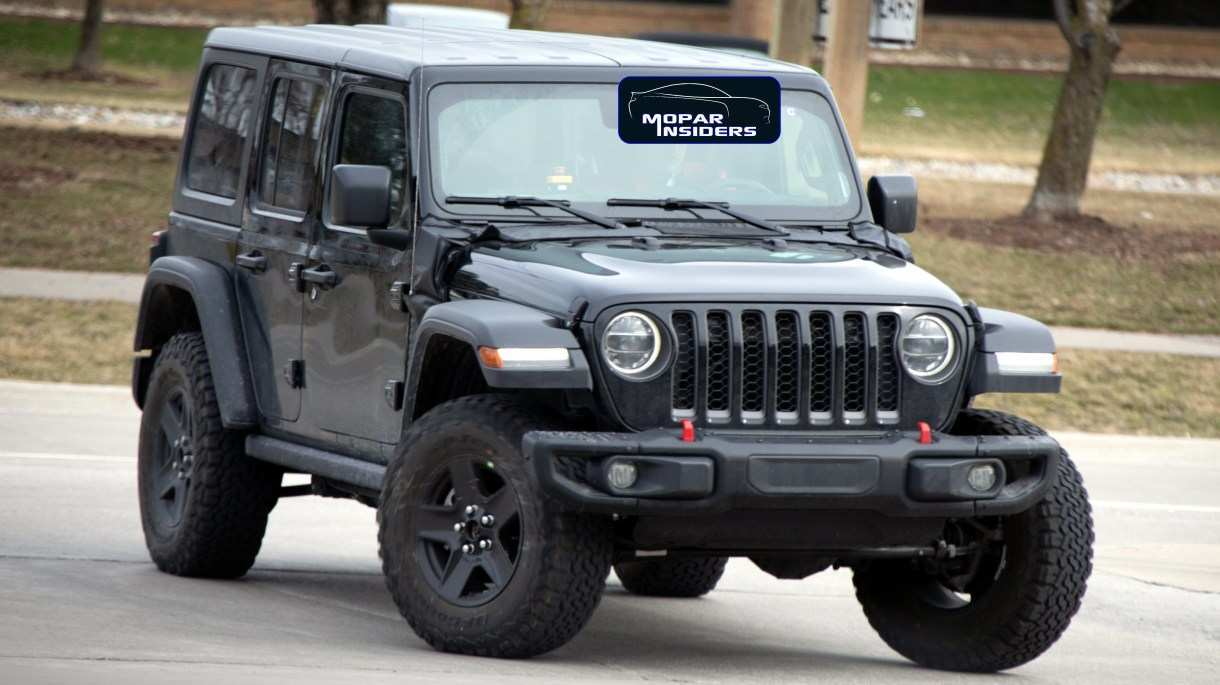 25 The Best 2020 Jeep Wrangler Jl Exterior And Interior