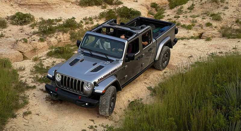 26 All New 2020 Jeep Gladiator Motor Picture