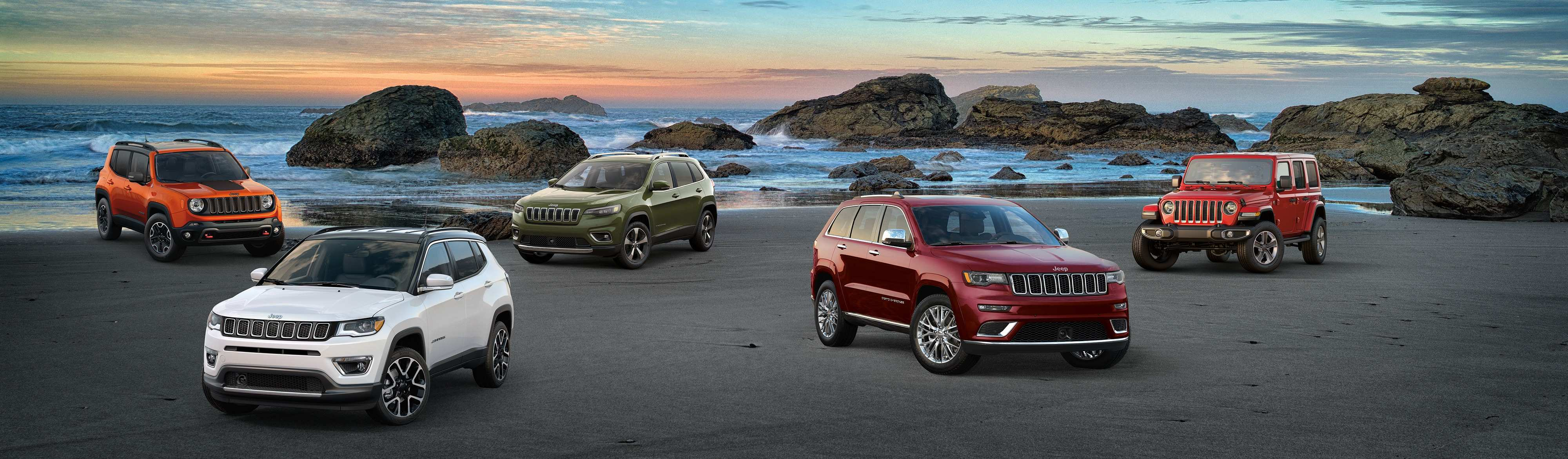 26 Best 2019 Jeep Lineup Exterior And Interior