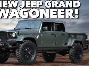 26 New 2019 Jeep Wagoneer Concept and Review