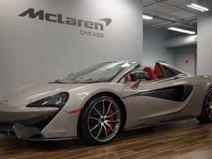 26 New 2019 Mclaren 570S Spider Picture