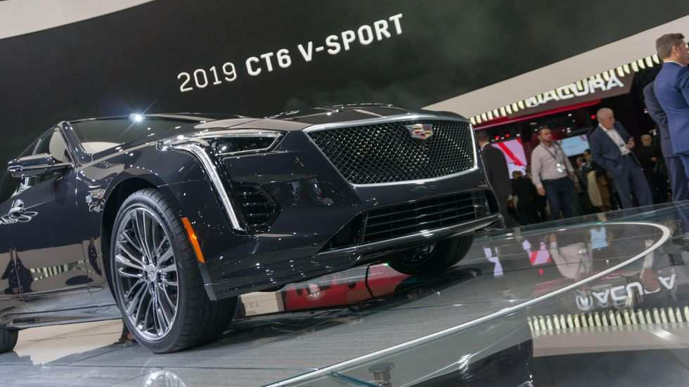 26 The 2019 Cadillac Twin Turbo V8 Pictures