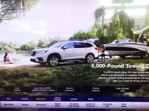 26 The 2019 Subaru Ascent Towing Capacity History