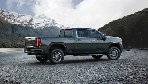 26 The 2020 Gmc 2500Hd Gas Engine Exterior And Interior