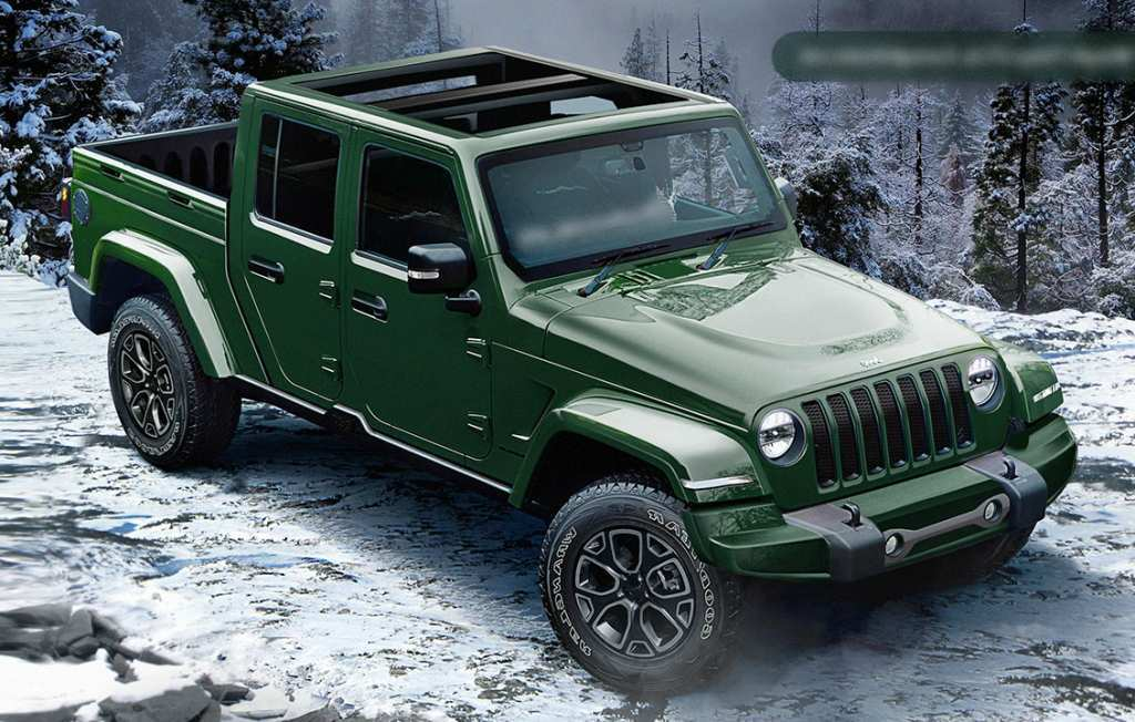 26 The 2020 Jeep Wrangler Pickup Truck First Drive