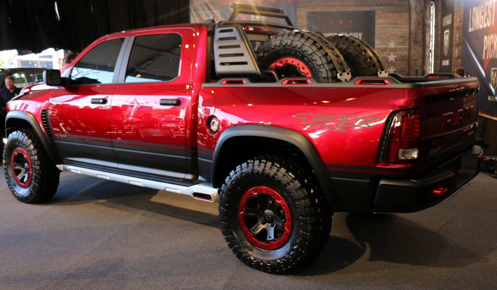 27 The Dodge Ram Rebel 2020 History