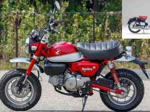 28 A 2019 Honda 125 Monkey Redesign and Review