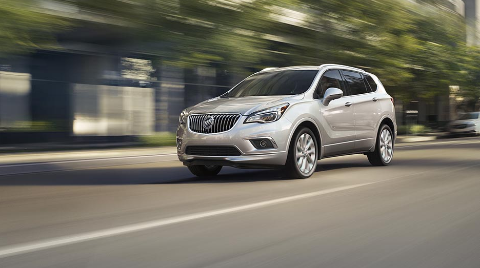 28 A 2020 Buick Envision Colors Configurations