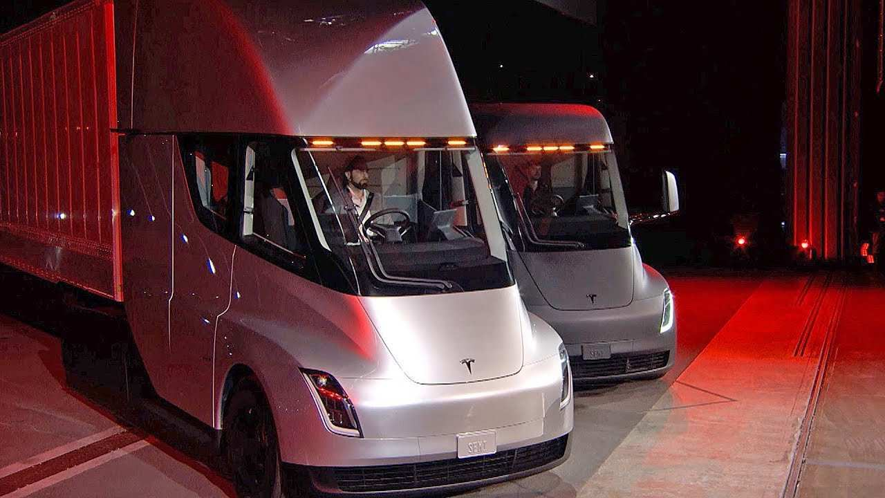 28 All New 2020 Tesla Truck First Drive