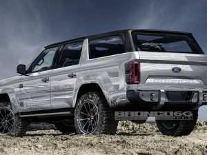 29 A 2020 Ford Bronco Model