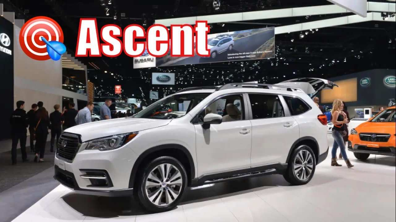 29 New Subaru Ascent 2020 Release Date Performance