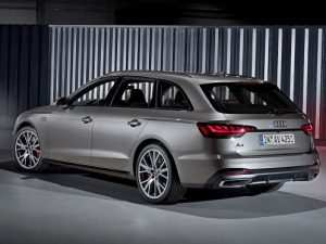 29 The Audi A4 Kombi 2020 Performance and New Engine