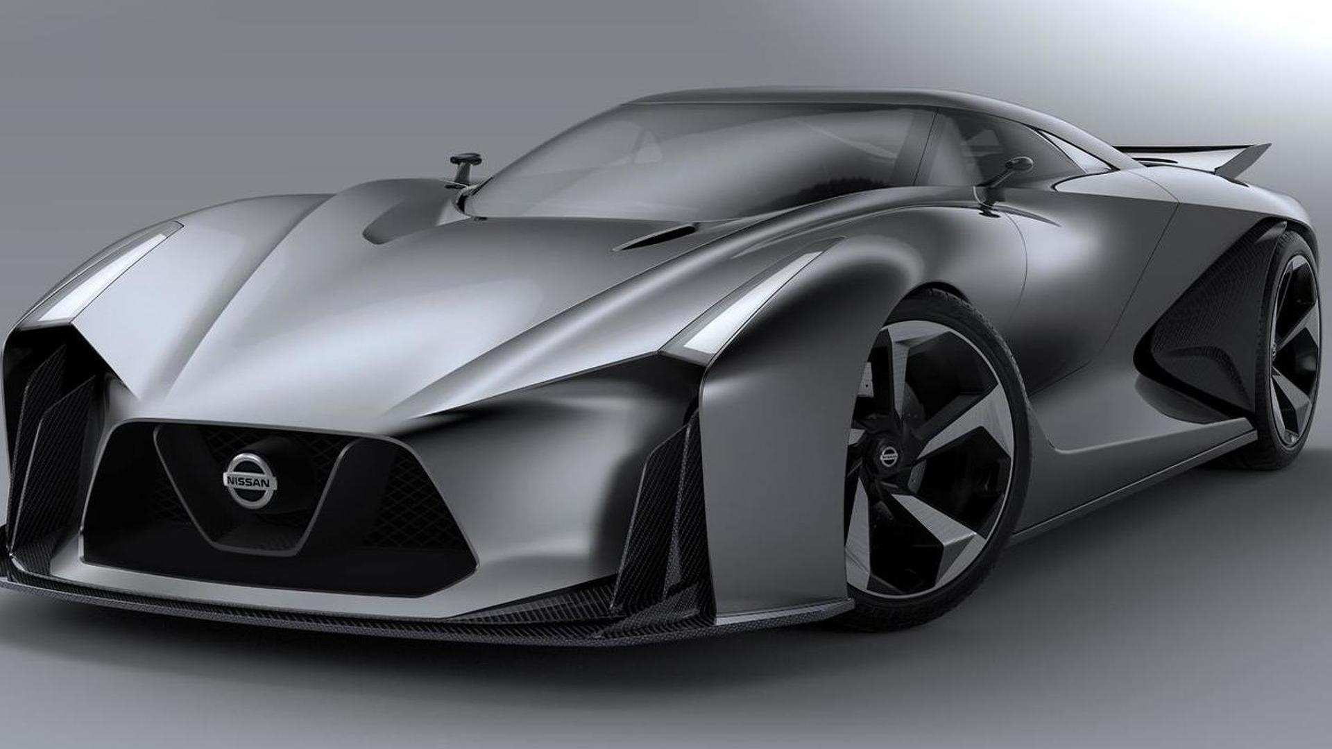 29 The Nissan 2020 Vision Gt Spy Shoot