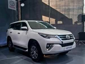 30 A 2020 Toyota Fortuner Prices