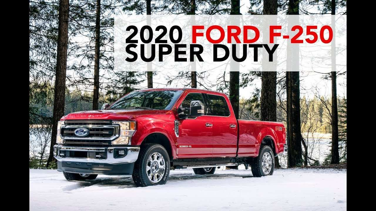 30 All New 2020 Ford Super Duty Youtube Style