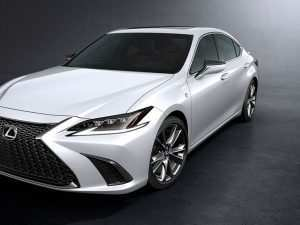 30 The Lexus 2019 F Sport Spy Shoot