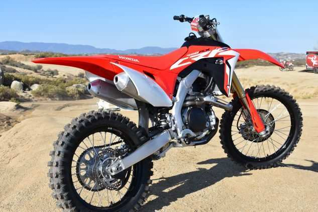 31 A 2019 Honda 450 Rx Ratings