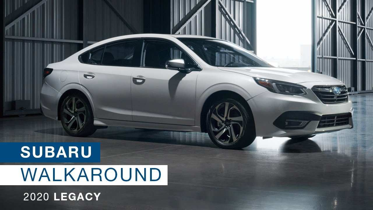 31 A Subaru Legacy 2020 Redesign Images