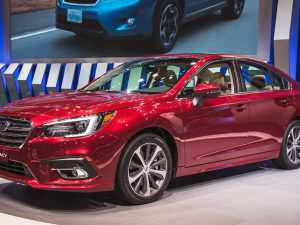 2020 Subaru Legacy Ground Clearance