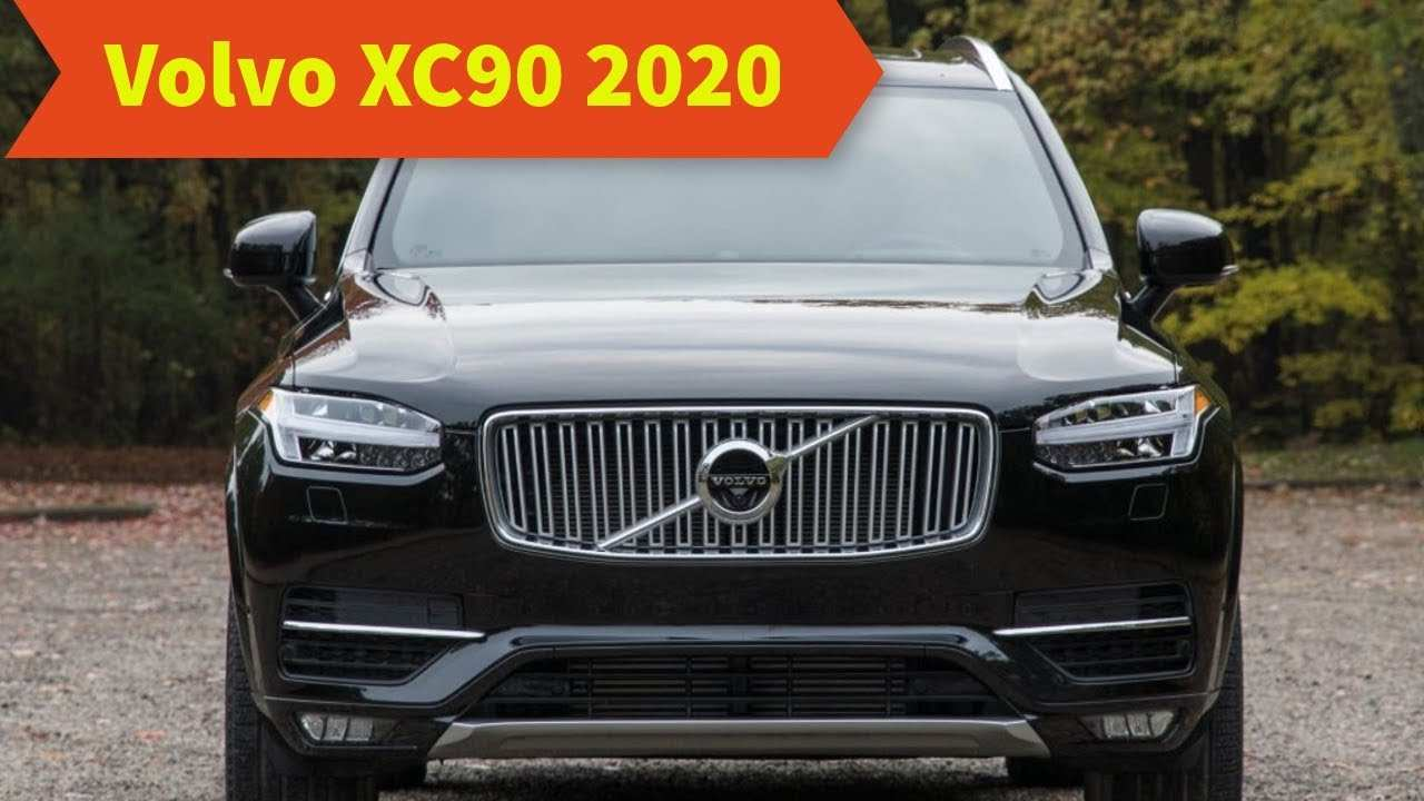 31 All New Volvo Xc90 2020 Review New Review