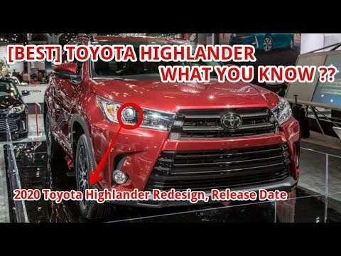 31 Best 2020 Toyota Highlander Concept Review And Release Date