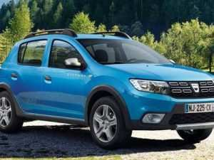 31 The 2019 Dacia Sandero Stepway Exterior