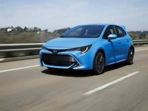31 The 2019 Toyota Corolla Hatchback Review Picture