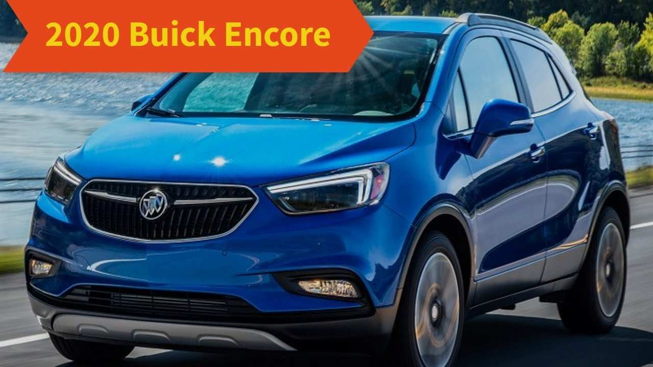 31 The Best 2020 Buick Encore Redesign Release Date And Concept