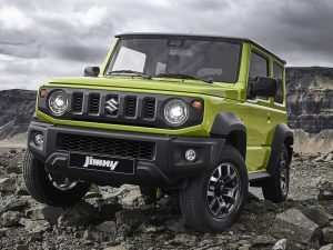 31 The Suzuki Jimny 2019 Interior Ratings