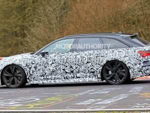 32 A 2020 Audi Rs6 Spy Shoot