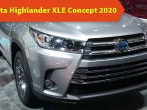 32 Best 2020 Toyota Highlander Concept Concept and Review