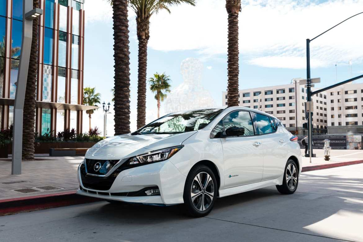32 New 2019 Nissan Electric Redesign And Review