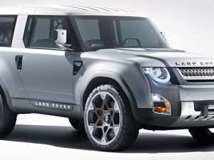 32 The 2019 Land Rover Defender Ute Concept