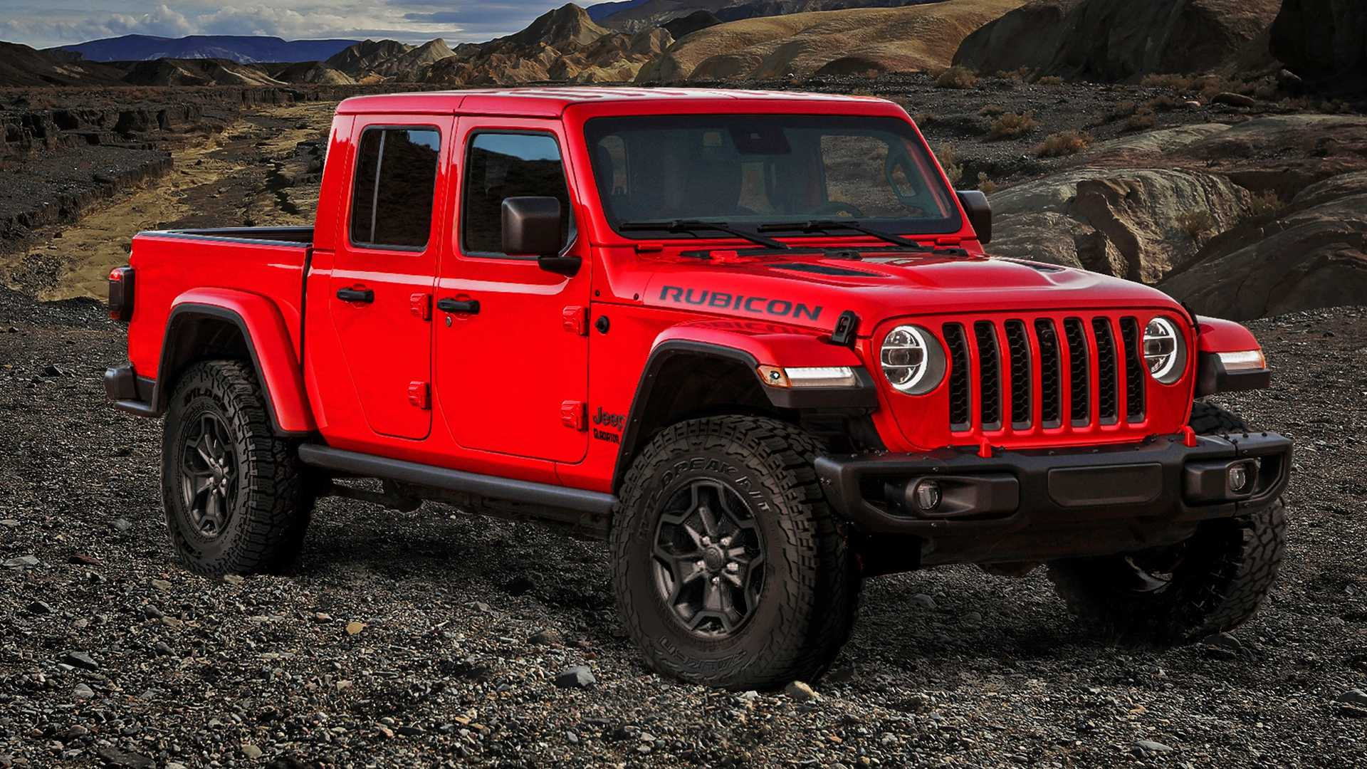 32 The 2020 Jeep Gladiator Lease Images