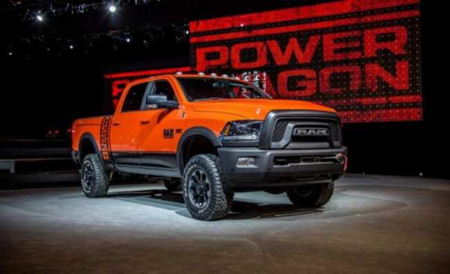 33 A 2020 Dodge Power Wagon 2500 Redesign And Concept