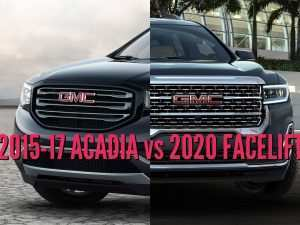 33 A Gmc Acadia 2020 Vs 2019 New Model and Performance