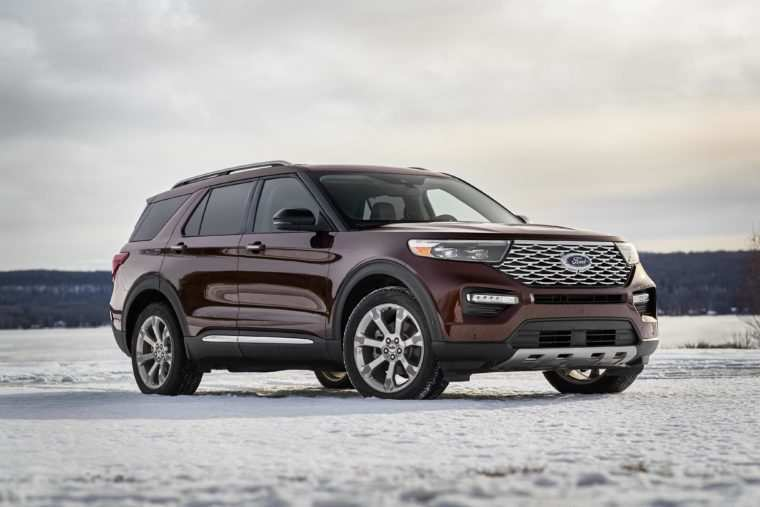 33 All New 2020 Ford Explorer Xlt Price Concept