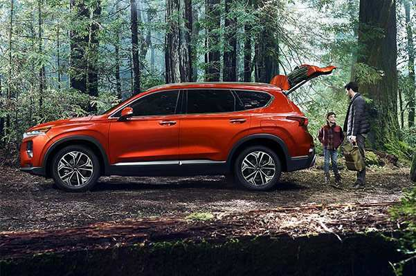 33 New 2019 Hyundai Santa Fe Interior Price Design and Review