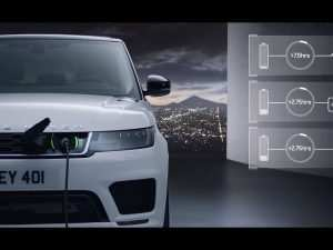 Land Rover Electric Cars 2020