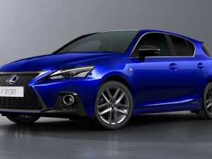 33 The 2019 Lexus Ct Interior