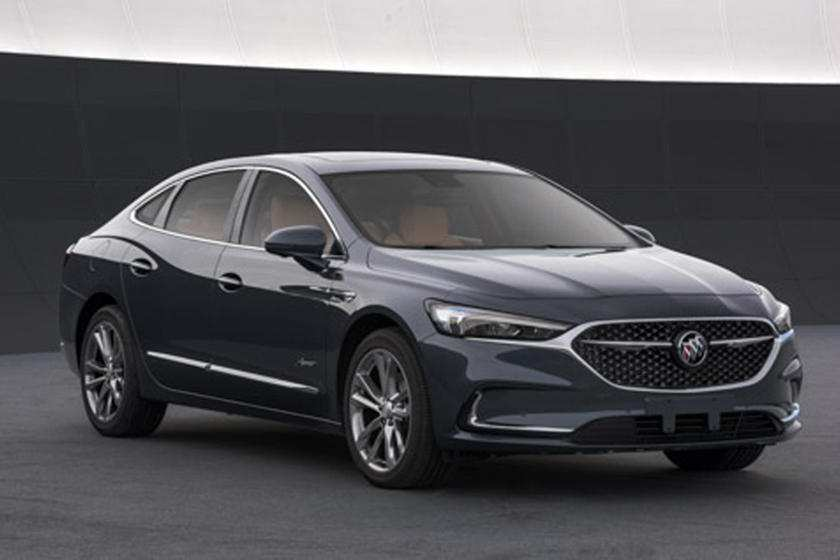 33 The 2020 Buick Lacrosse Refresh Images