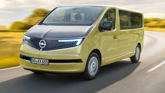 34 All New Opel Bus 2020 Release Date And Concept