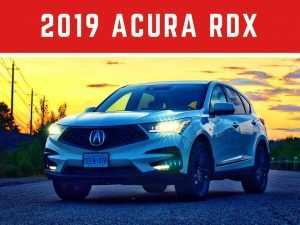 34 New 2019 Acura Rdx Forum Redesign and Concept