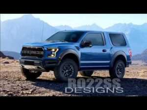 34 New 2020 Ford Bronco Raptor Concept and Review