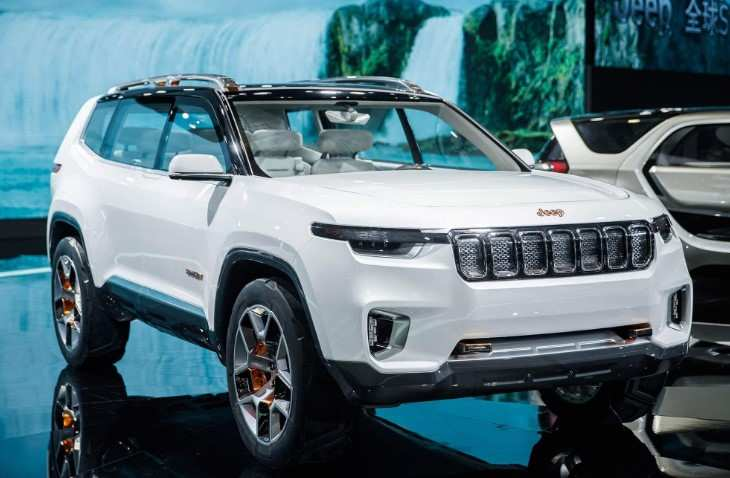 34 New 2020 Jeep Grand Cherokee Spy Photos Pictures