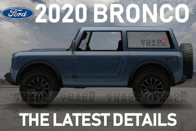 34 New Pictures Of The 2020 Ford Bronco Images