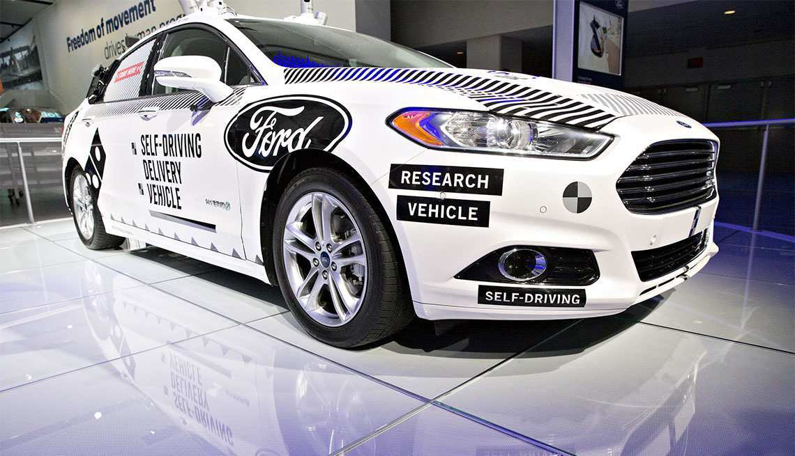 34 The Ford 2020 Driverless Redesign And Concept
