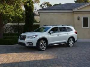 35 All New 2019 Subaru Ascent Debut Review and Release date