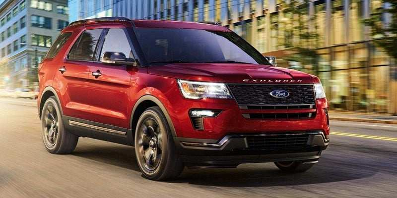 35 The 2019 Ford Explorer Price Design And Review